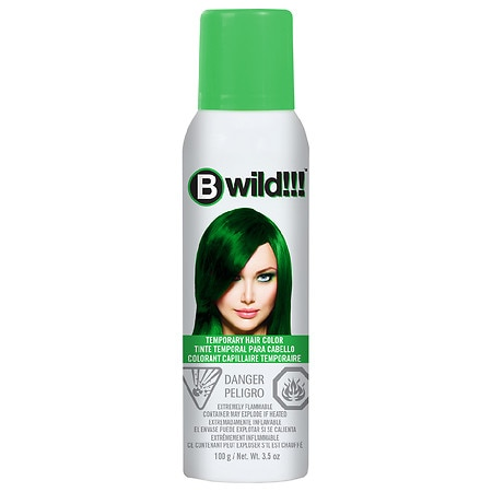 Jerome Russell B Wild Temp'ry Hair Color Spray Green