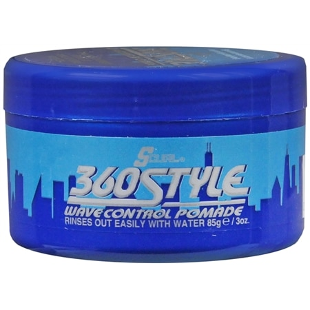 Luster's S-Curl 360 Style Wave Control Pomade - 3 oz.