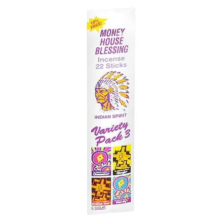 Money House Blessing Indian Spirit Incense Sticks