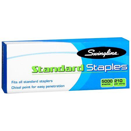Swingline Standard Staples - 5000 ea.