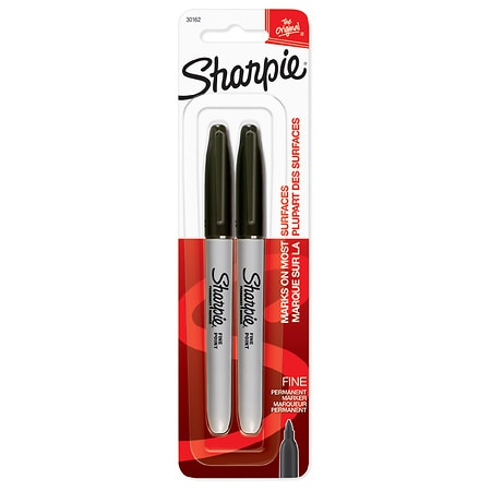 Sharpie Fine Point Permanent Markers - 2 ea.