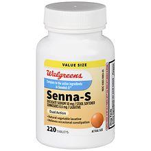 Walgreens Senna S Stool Softener With Laxative Tablets