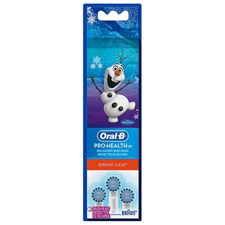 Oral-B Pro-Health Sensitive Clean Disney Frozen Kids Replacement Toothbrush Heads - 3 ea