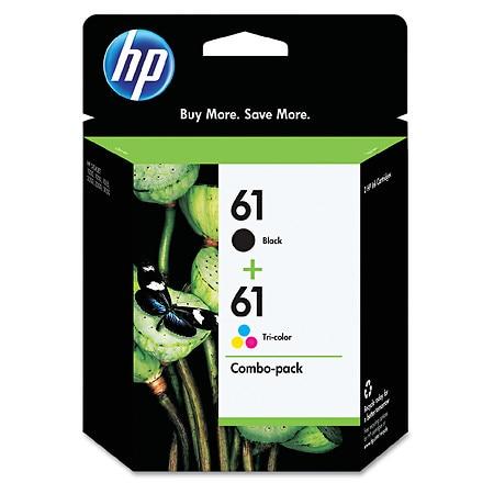 HP Ink Cartridges 61 61 - 2 ea