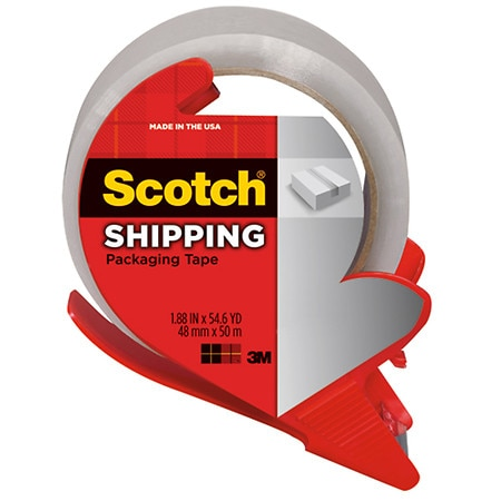 Image of 3M Scotch Shipping Packaging Tape - 84.2 yd.