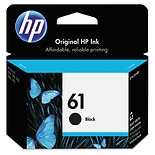 HP Ink Cartridge 61 61 Black