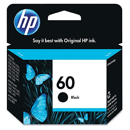 HP Ink Cartridge 60 Black