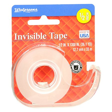 Walgreens Invisible Tape - 1300 in.