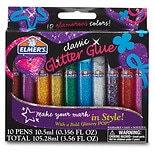 Elmer's 3D Washable Paint Pens Classic Rainbow 'n Glitter Colors