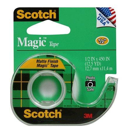 3M Scotch Magic Tape - 450 in.