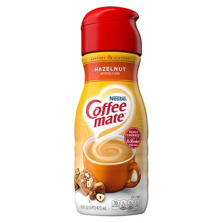 Coffee-mate Coffee Creamer Hazelnut - 16 fl oz