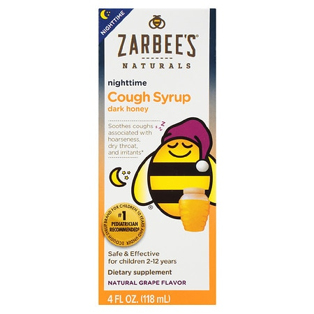 ZarBee's Naturals Children's Nighttime Cough Syrup Grape