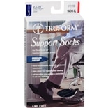 Truform Men's Dress Style Over-the-Calf Length Firm (15-20 mm) Support Socks XL Navy
