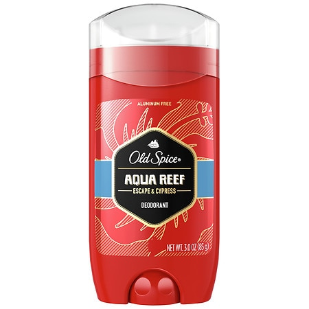 Old Spice Red Zone Collection Men's Deodorant Aqua Reef - 3 oz.