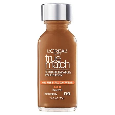 L'Oreal Paris True Match Super-Blendable Foundation Makeup - 1 fl oz