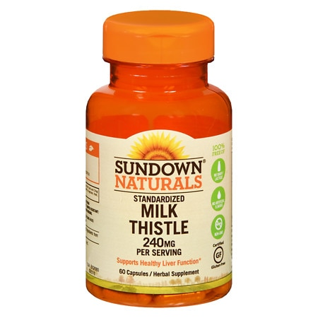 Sundown Naturals Naturals Milk Thistle Xtra, Capsules