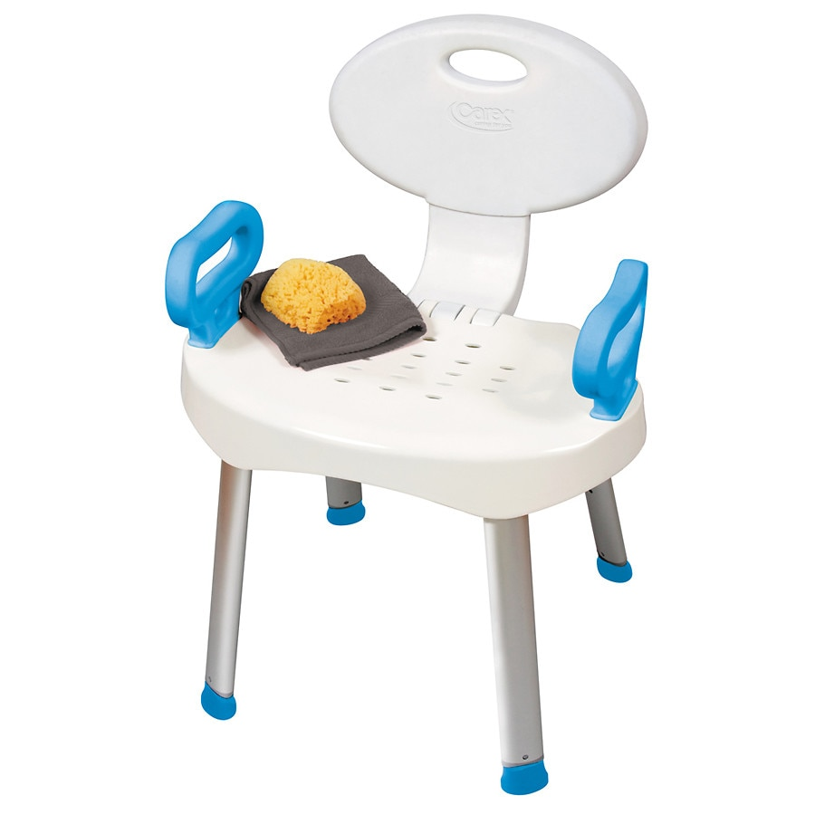 Carex E-Z Bath & Shower Seat with Handles | Walgreens