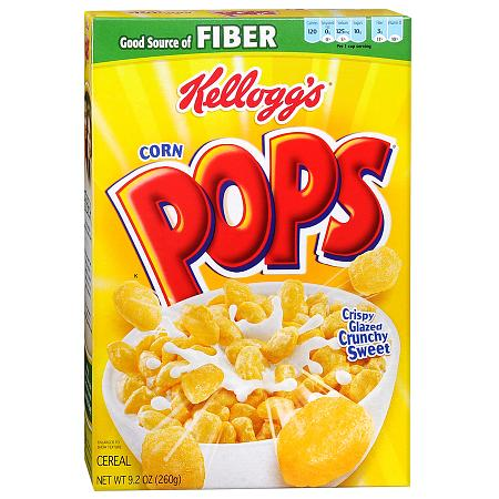 Kellogg's Corn Pops Cereal