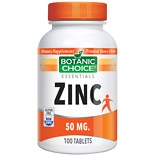 Botanic Choice Zinc 50 mg Dietary Supplement Tablets