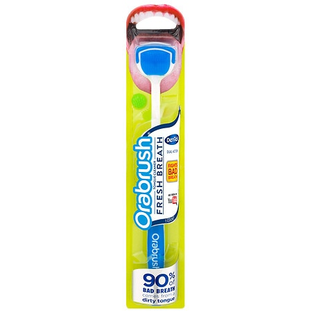Orabrush Dual-Action Tongue Cleaner - 1.0 ea