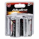 Walgreens Alkaline Supercell Batteries D