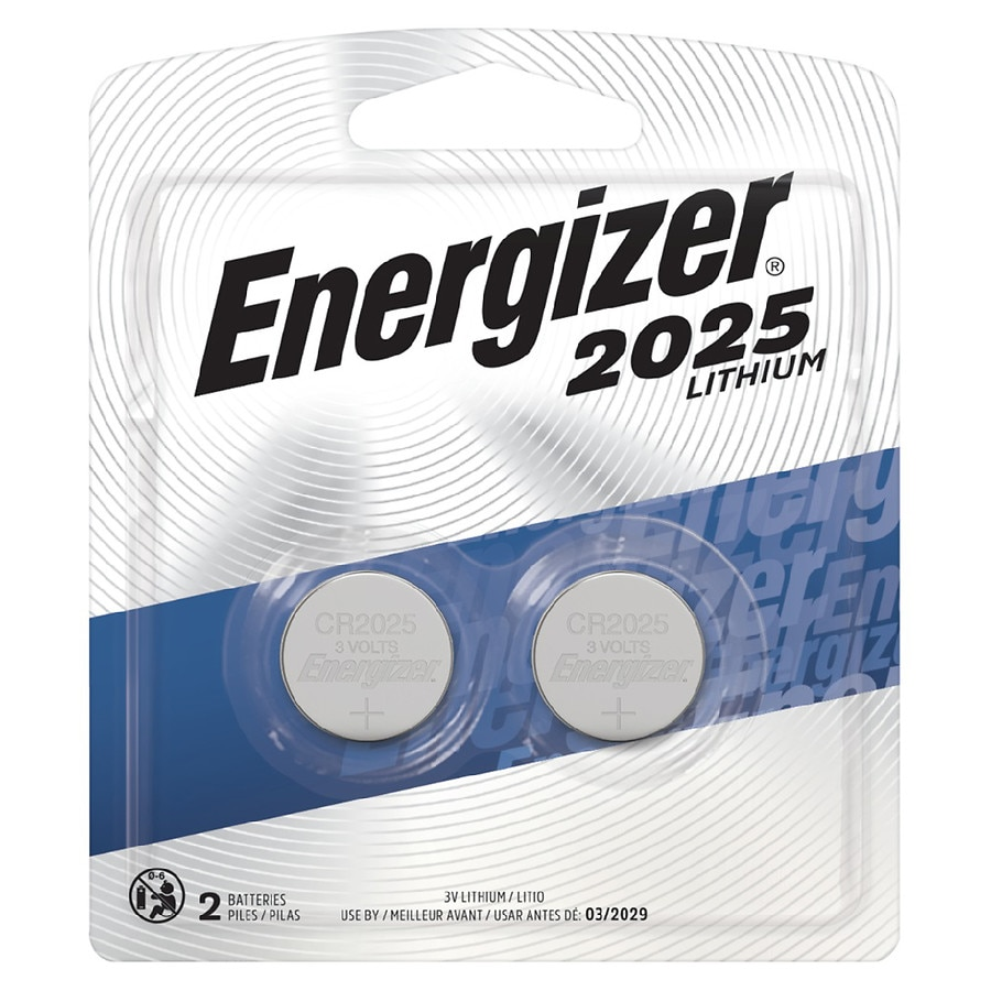 Batteries Walgreens Baterai Aa Maxell Super Power Ace Red Energizer Watch Electronic Lithium 2025 Cr2025