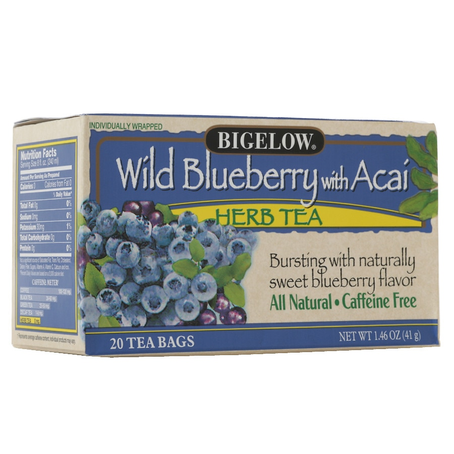 Bigelow Herb Tea Wild Blueberry w/ Acai