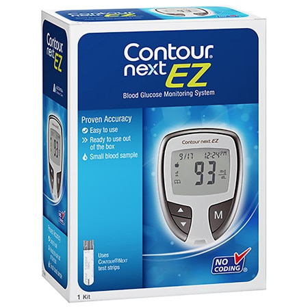 CONTOUR NEXT Blood Glucose Monitoring System Gray