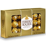 Ferrero Rocher Gift Box Hazelnut, 18 Piece