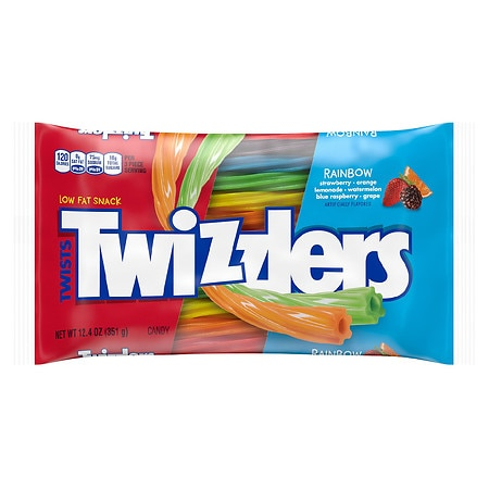 Twizzlers Rainbow Twists Bag