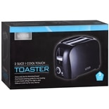 Living Solutions Cool Touch Toaster, 2 Slice