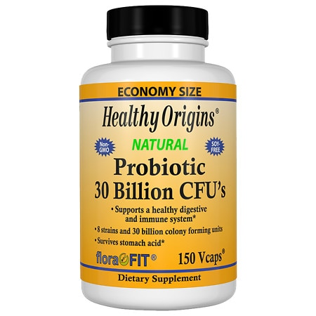 Healthy Origins Probiotic 30 Billion CFU's, Veggie Capsules - 150 ea
