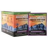 Acli-Mate Mountain Sport Drink Altitude & Energy Aid Packets Mountain Grape