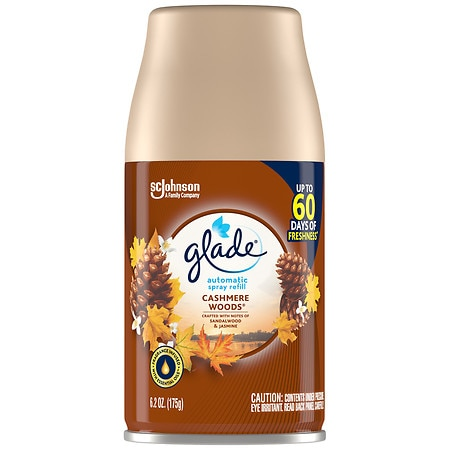 Glade Automatic Spray Refill Cashmere Woods