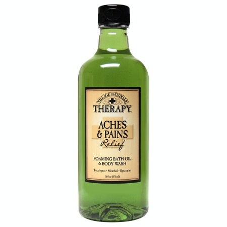 Village Naturals Therapy Foaming Bath Oil & Body Wash Aches & Pains Relief
