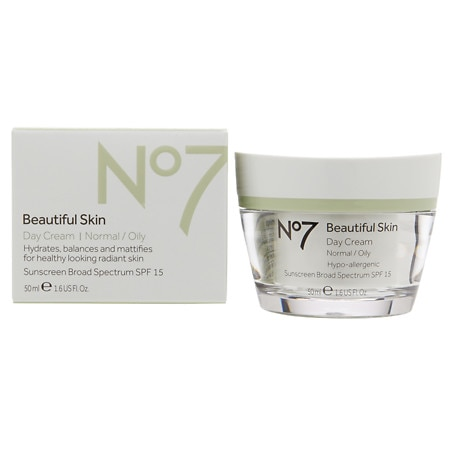 No7 Beautiful Skin Day Cream, Normal / Oily