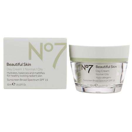 No7 Beautiful Skin Day Cream, Normal / Oily - 1.6 oz.