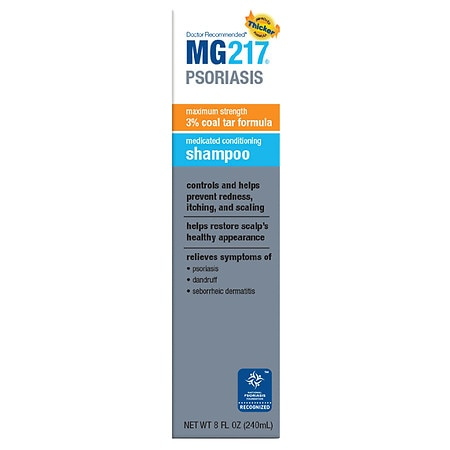 MG217 Medicated Conditioning Coal Tar Formula Shampoo - 8 fl oz