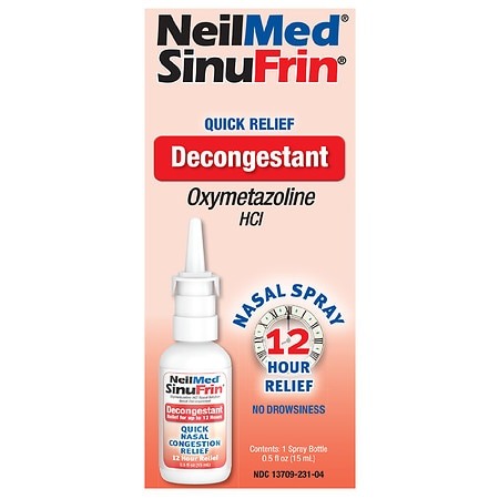 NeilMed SinuFrin Decongestant Spray - 0.5 fl