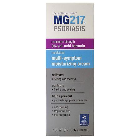 MG217 Psoriasis Medicated Multi-Symptom Cream - 3.5 fl oz
