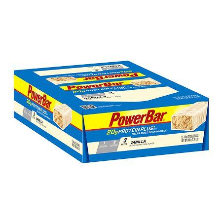PowerBar Protein Plus 20g - 2.12 oz. x 15 pack
