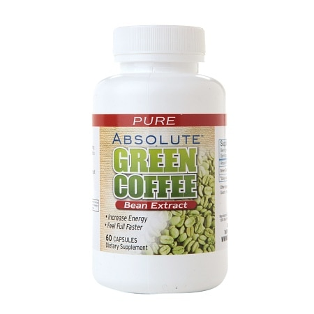 Absolute Nutrition Absolute Green Coffee Bean Extract, Capsules - 60 ea