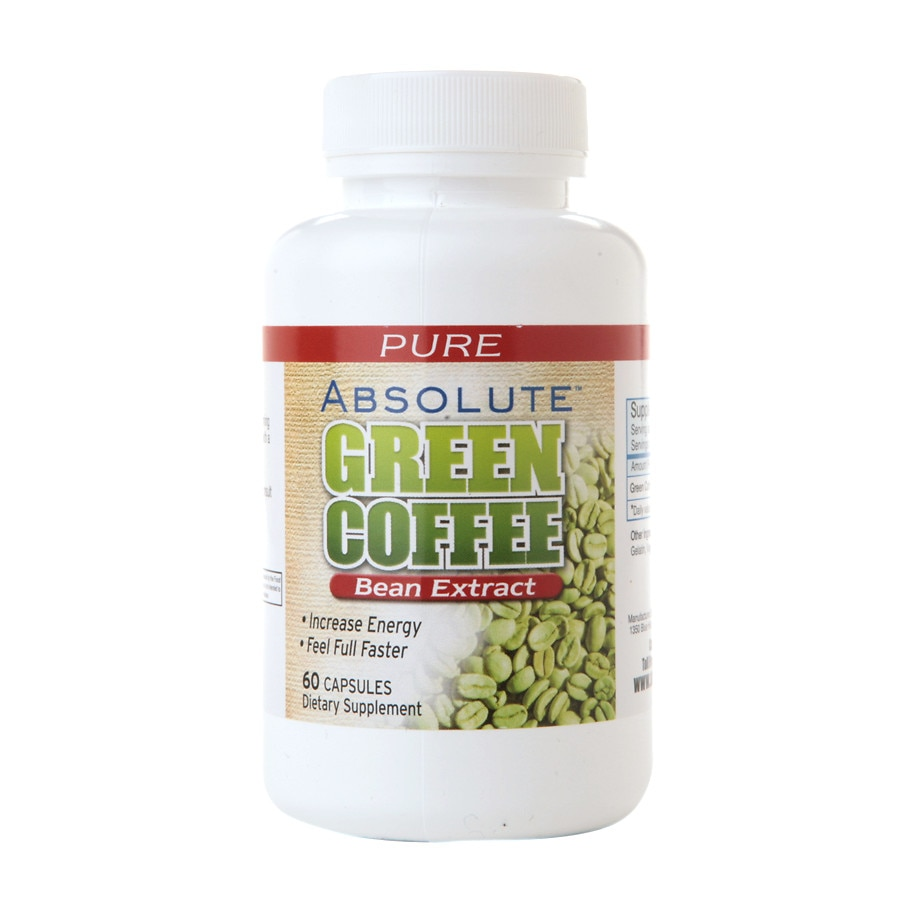 Absolute Nutrition Absolute Green Coffee Bean Extract Capsules Walgreens