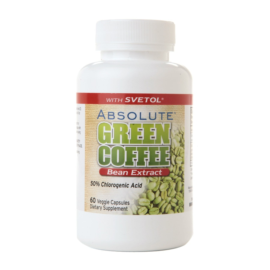 Absolute Nutrition Absolute Green Coffee Bean Extract With Svetol Capsules Walgreens