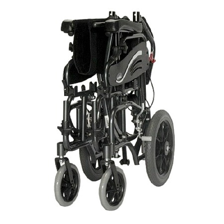 Karman 18 inch Tilt in Space Reclining Transport Wheelchair with Elevating Legrest ...  sc 1 st  Walgreens : reclining transport chair - islam-shia.org