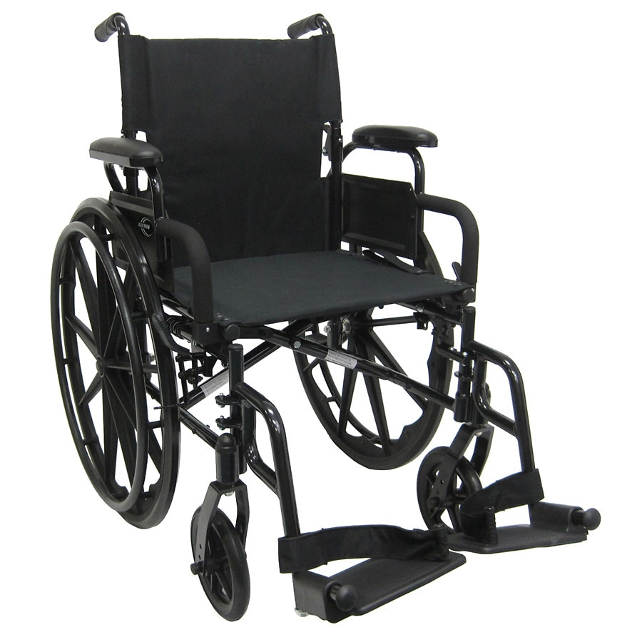 Outstanding Karman 16 Inch Ultra Lightweight Wheelchair With Flip Back Armrest Caraccident5 Cool Chair Designs And Ideas Caraccident5Info