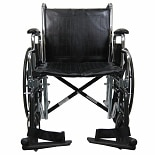 Karman 20 inch Heavy Duty Wheelchair with Removable Armrest & Adjustable Height