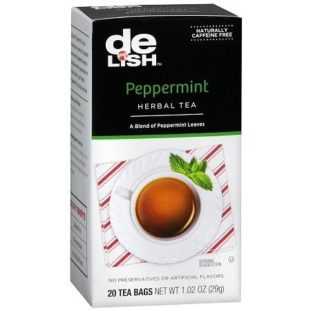 Good & Delish Herbal Tea Bags Peppermint