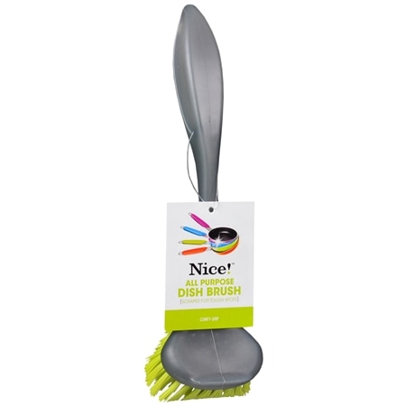 Nice! All Purpose Dish Brush Gray/Green