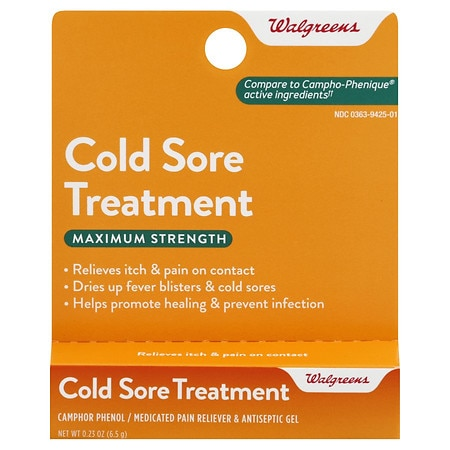 Walgreens Cold Sore Treatment Gel Walgreens